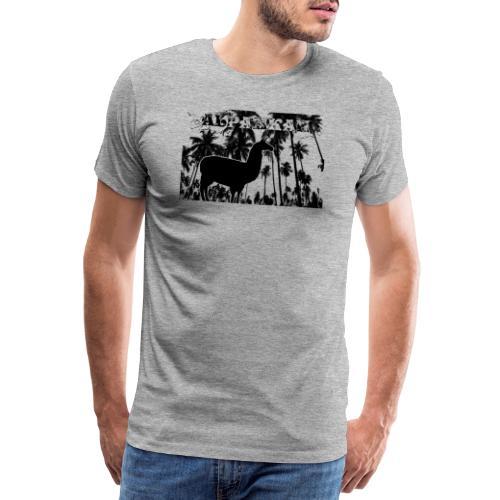 Alpakkah - Männer Premium T-Shirt