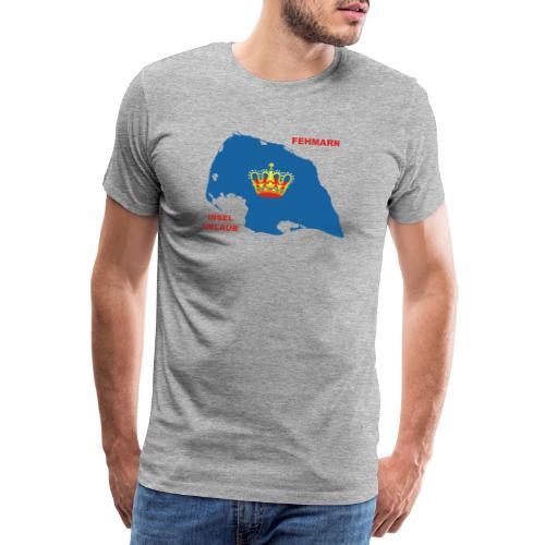Fehmarn Insel Ostsee Urlaub - Männer Premium T-Shirt