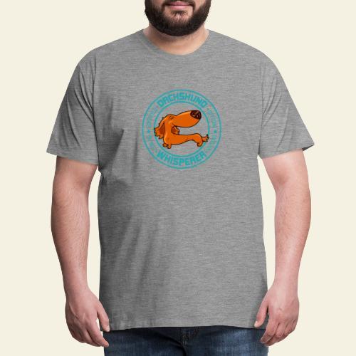 Dachshund Whisperer III - Miesten premium t-paita