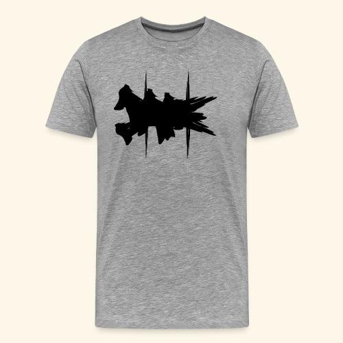Flying Dog Art - Männer Premium T-Shirt