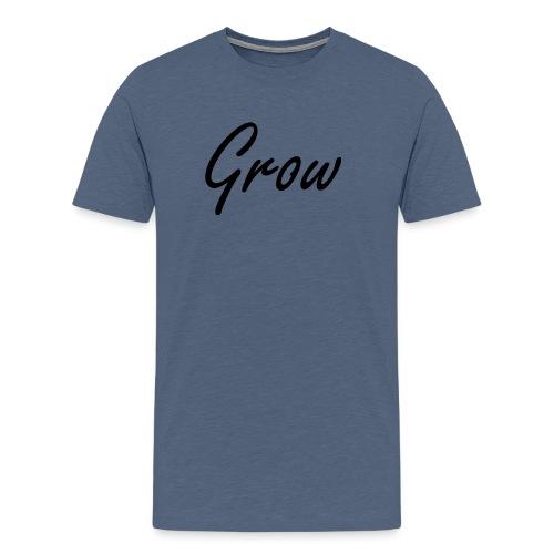 Grow - Männer Premium T-Shirt