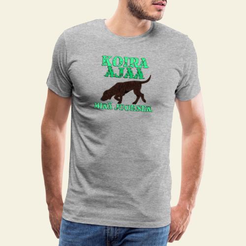 plottiajaa7 - Miesten premium t-paita