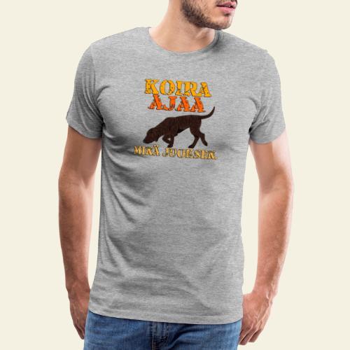 plottiajaa2 - Miesten premium t-paita