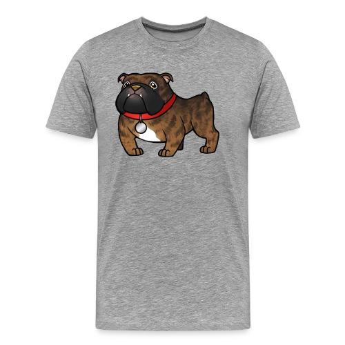 Köbi Comicstyle transparent - Männer Premium T-Shirt