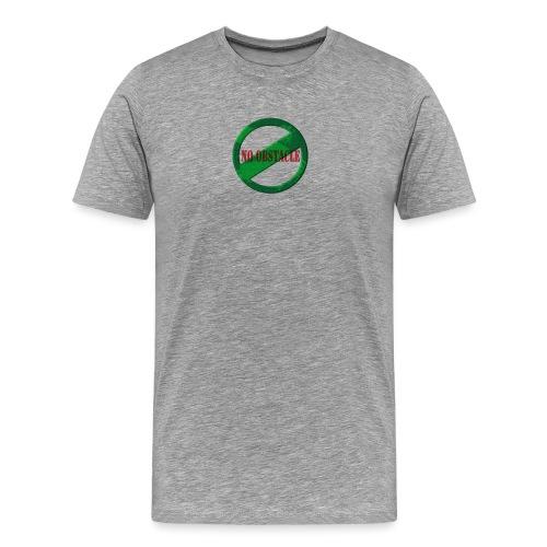 NO OBSTACLE - Men's Premium T-Shirt