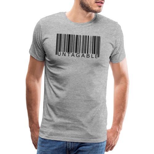 Untagable - Mannen Premium T-shirt