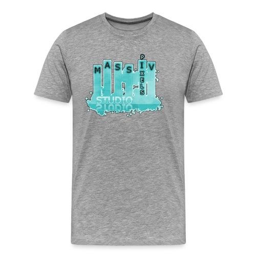 Massiv Pixels Studio - Männer Premium T-Shirt