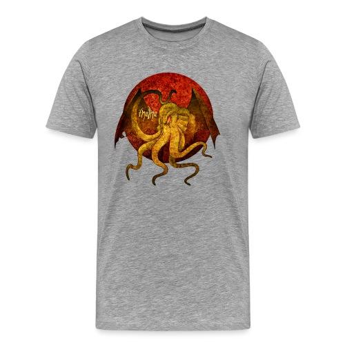 Cthulhu Moon - Männer Premium T-Shirt