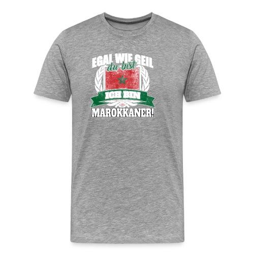 Bist du stolz Marokkanerin zu sein? Dann ist diese - Männer Premium T-Shirt