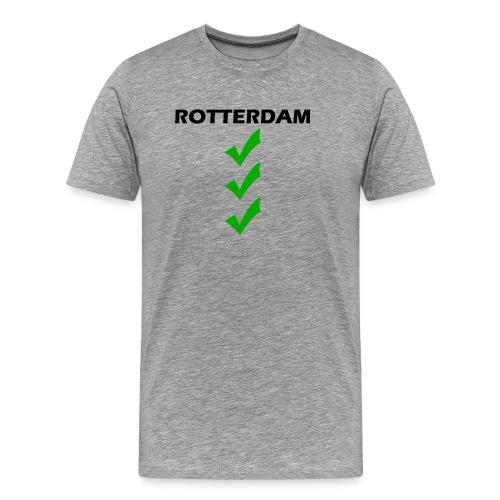 ROTTERDAM VINK png - Mannen Premium T-shirt