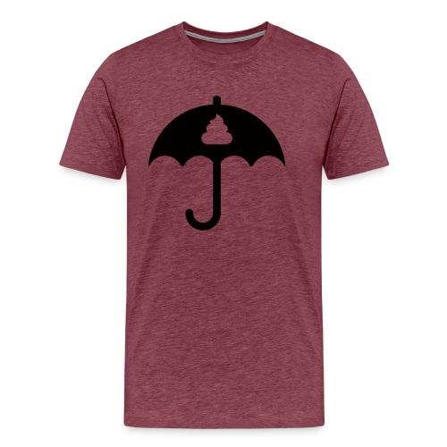 Shit icon Black png - Men's Premium T-Shirt