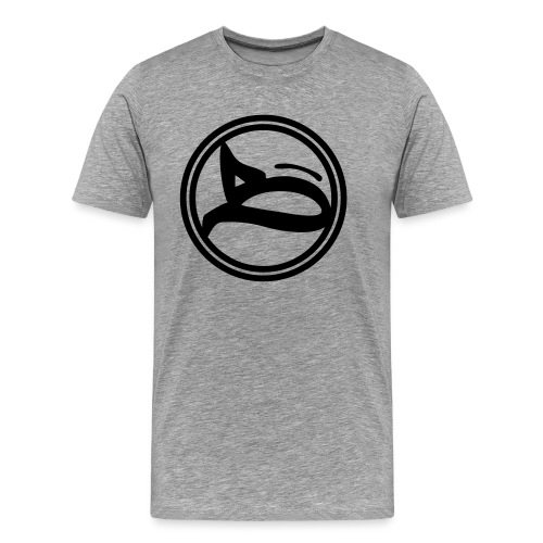 B - Logo / circular_black - Männer Premium T-Shirt