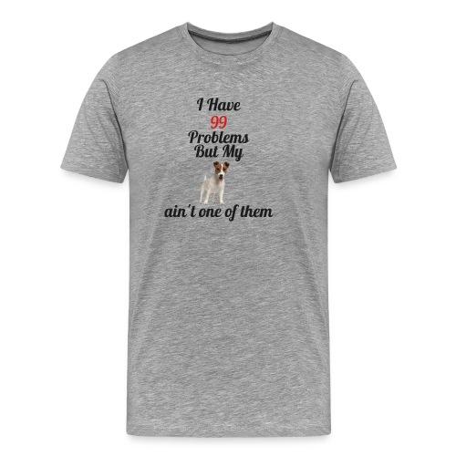 99 Problems but not Jack - Men's Premium T-Shirt