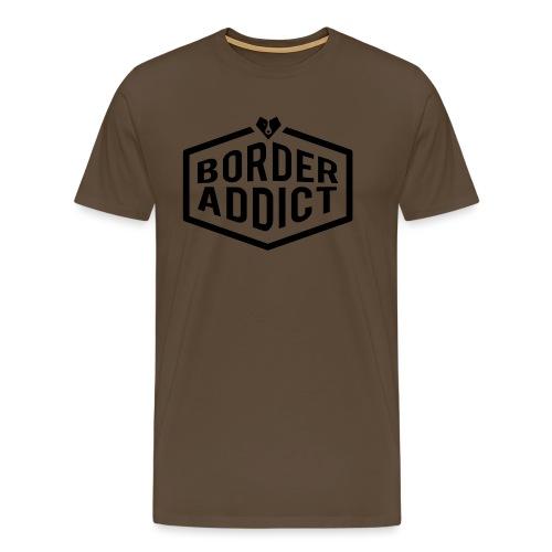 Border Addict - T-shirt Premium Homme