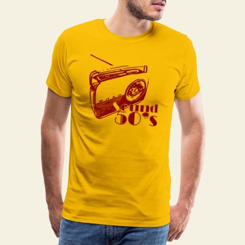 50s radio - Herre premium T-shirt