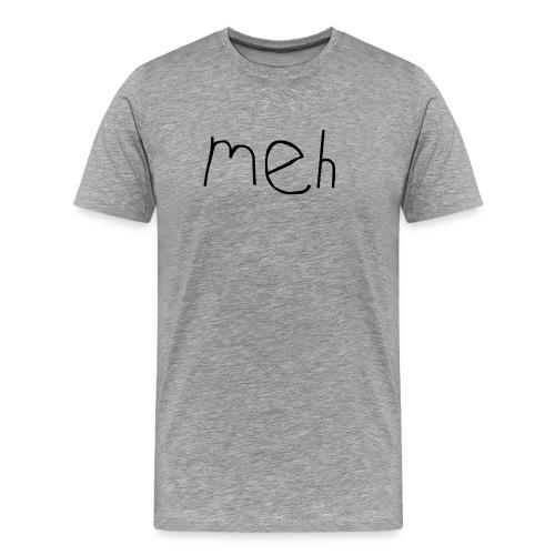 meh2black - Men's Premium T-Shirt
