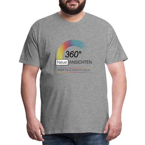 Logo NeueAnsichten - Männer Premium T-Shirt