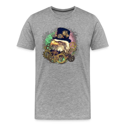Steampunk Adler - Männer Premium T-Shirt