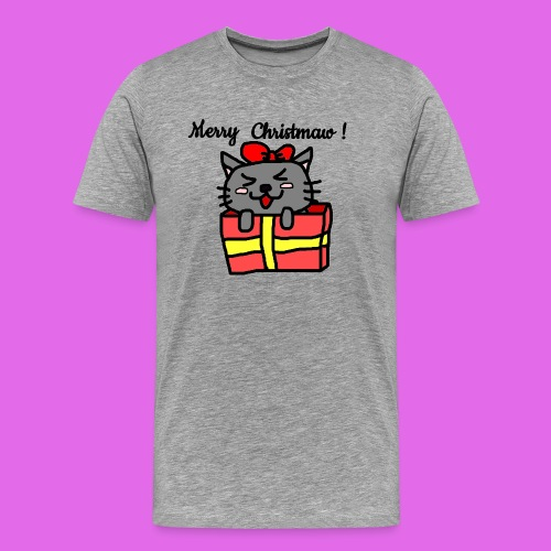 Christmas Kitty - T-shirt Premium Homme