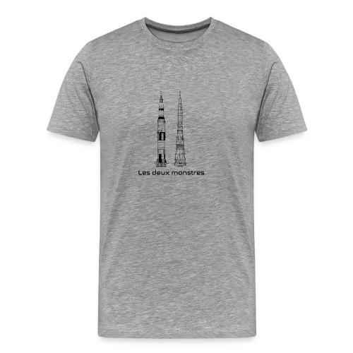 Saturn V & N 1 - T-shirt Premium Homme