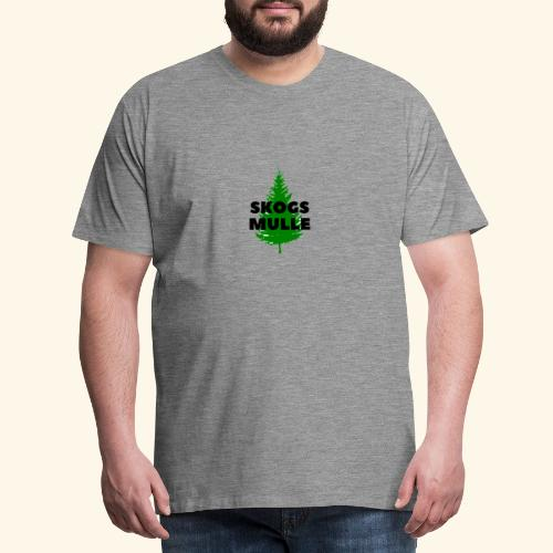 Skogsmulle - Premium-T-shirt herr
