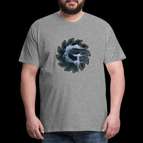 Glimmer logo 2019 v2 - Premium T-skjorte for menn
