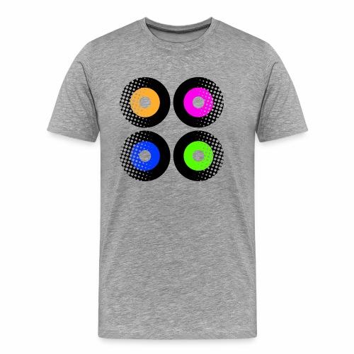 Schallplatten Inspiration - Männer Premium T-Shirt