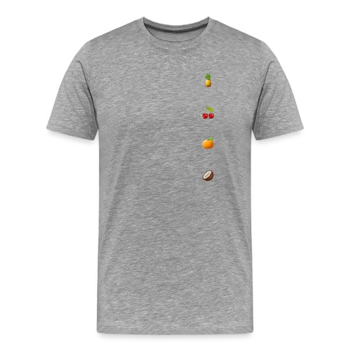 All fruits - Mannen Premium T-shirt