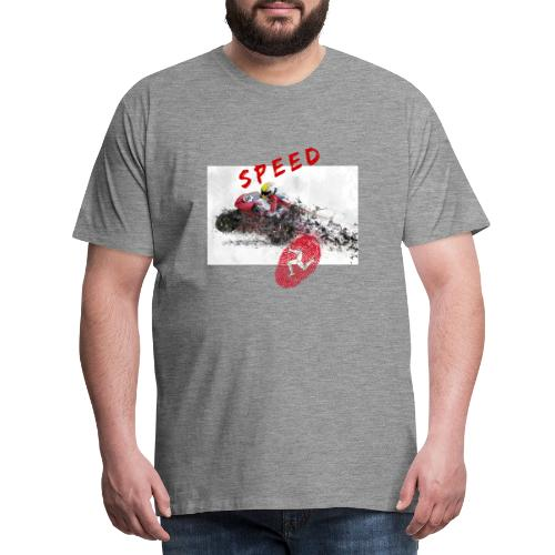 Speed - Isle of Man - Männer Premium T-Shirt