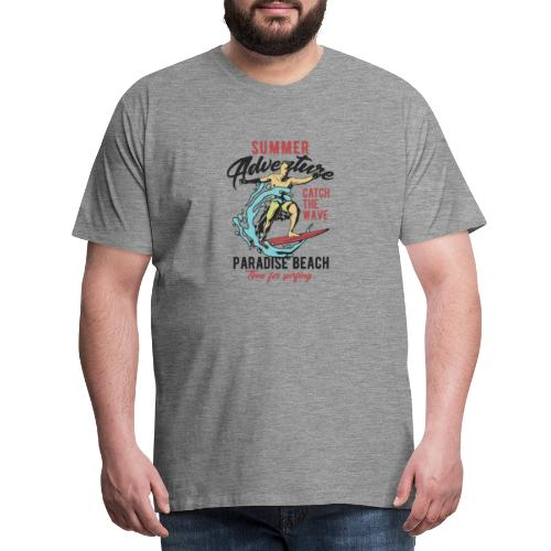 Time for Surfing - Männer Premium T-Shirt