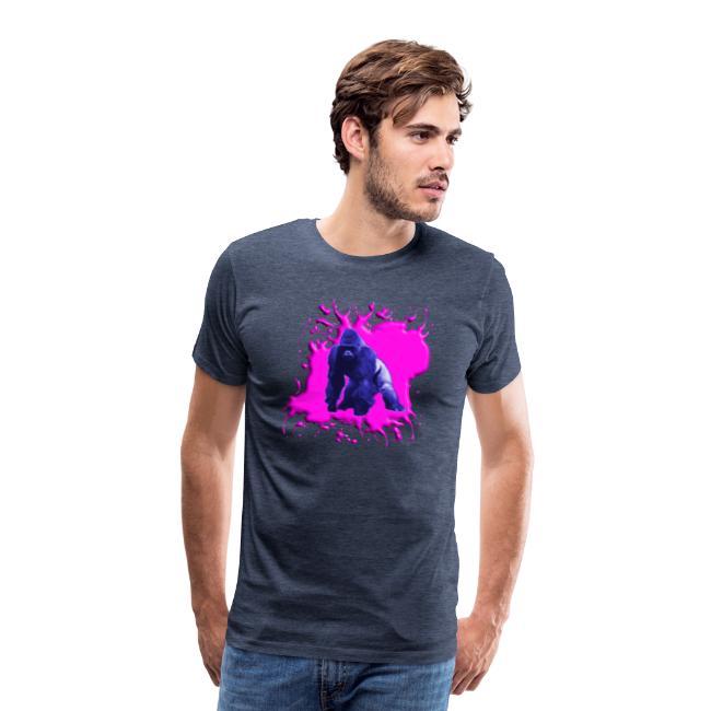 Gorilla Blau Pink