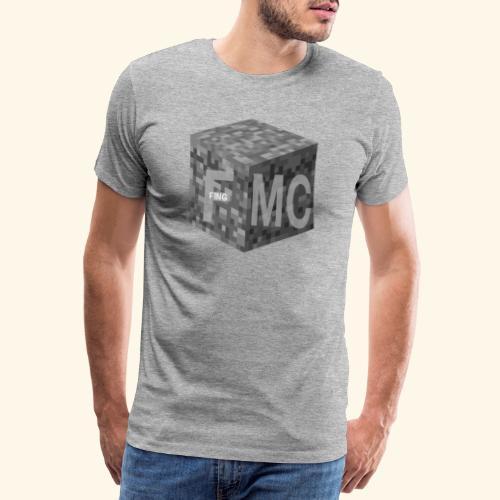 FingMC Logo - Männer Premium T-Shirt