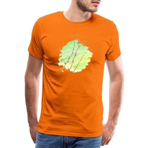 Weidenkätzchen - Männer Premium T-Shirt