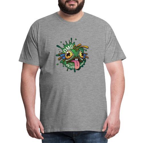 Logo guilde OMG - T-shirt Premium Homme