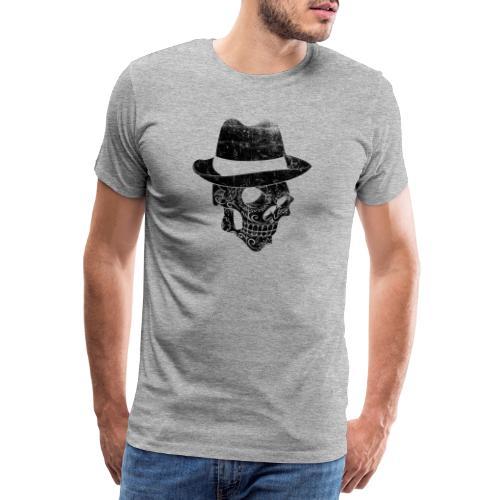Gangster Totenkopf - Männer Premium T-Shirt
