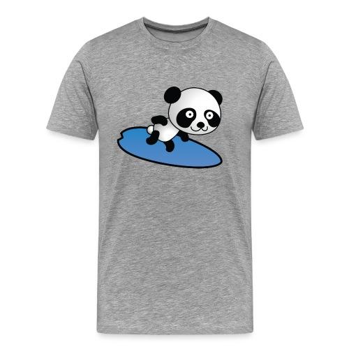 Surfing Panda - Männer Premium T-Shirt