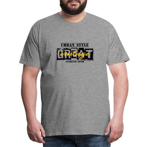 GREAT vintage - Männer Premium T-Shirt