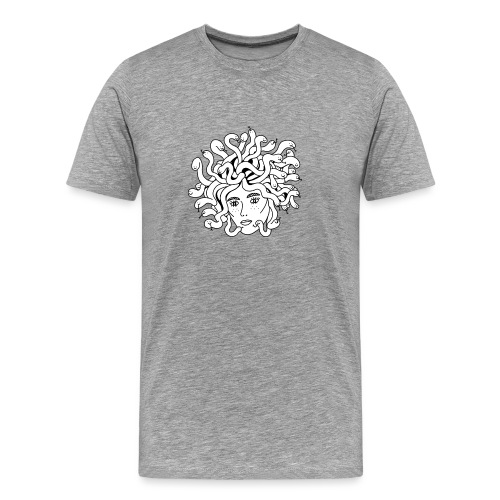 Medusa Doodle - Medusi - Männer Premium T-Shirt
