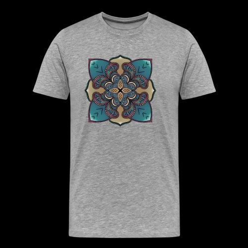 cute Mandala style design - Men's Premium T-Shirt