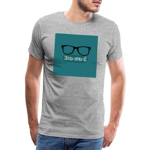 Lunette - Design - Bleu Mat - T-shirt Premium Homme
