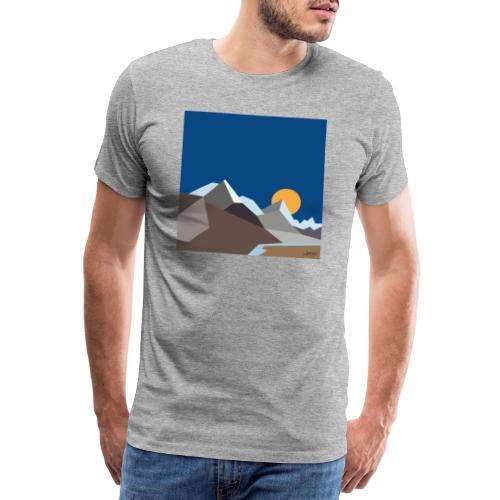 Himalayas - Men's Premium T-Shirt