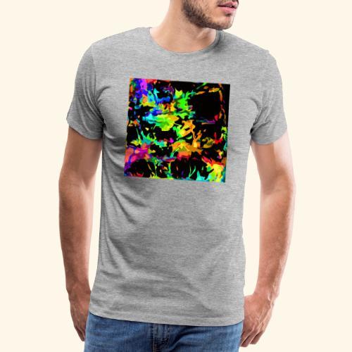 Fiamme colorate - Maglietta Premium da uomo