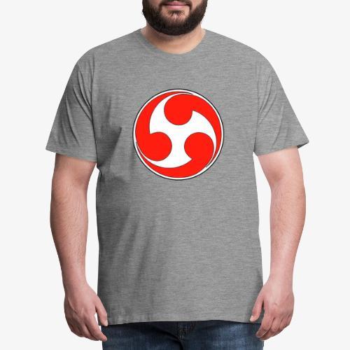esoteric symbols samurai - T-shirt Premium Homme
