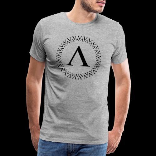 Kreis Logo - Männer Premium T-Shirt
