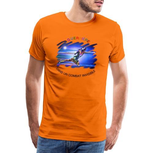 Guerrière dans un combat invisible - T-shirt Premium Homme