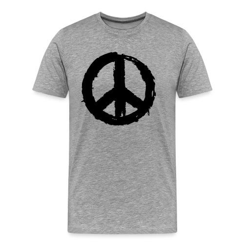 Pinselpeace - Männer Premium T-Shirt