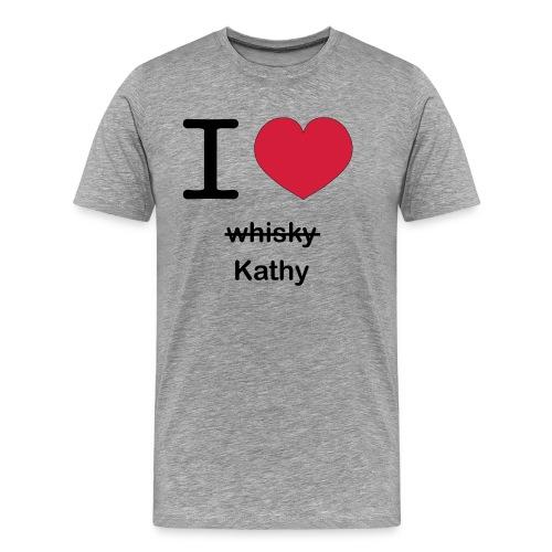 ilovekathy - Mannen Premium T-shirt