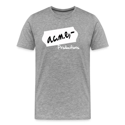 acmeproductionswhite - Männer Premium T-Shirt