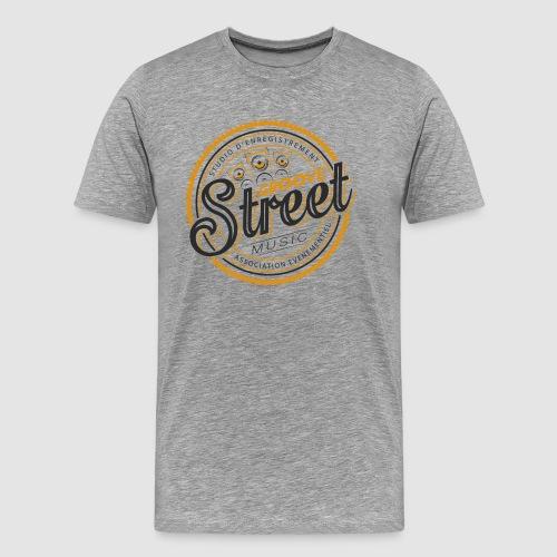 logo tshirt groovestreet png - T-shirt Premium Homme