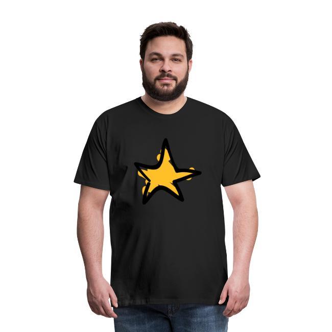 Star Line Drawing Pixellamb